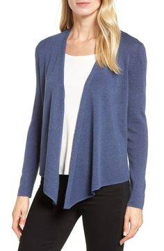 NIC+ZOE 4-WAY CONVERTIBLE THREE QUARTER SLEEVE CARDIGAN. #nic+zoe #cloth #