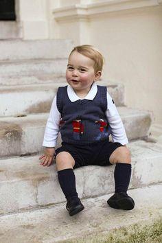 Prinssi George on hurmannut ennenkin. Kuva joulukuulta 2014.