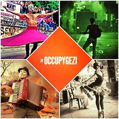 This is how we #occupygezi and this is how we protest the goverment who is calling us marginal, provocateur, looter etc. We are #chapulling out of love. Love for Turkish Republic, love for our freedom and rights. Please support #TURKEY thank u!