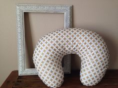 boppy slip cover: Metallic Gold Plus by Nooches on Etsy