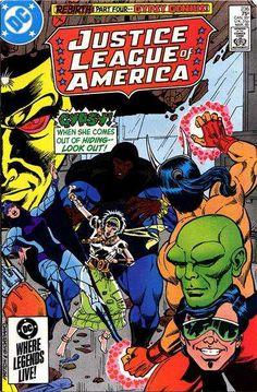 """Justice League of America #236 """"Gypsy Genius"""" March 1, 1985."""