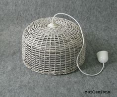 Lampa Gray - zapleciona - Lampy wiszące