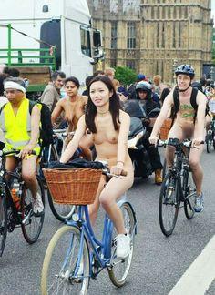 bike chinese nudists