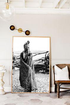 Namibia Himba Two Photographic Print | Extra Large Size | © Kara Rosenlund