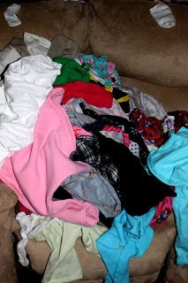 How I tame the laundry monster