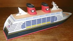 Make your own paper Disney Cruise Ship!