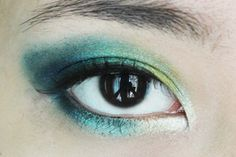 Beauty Appetite: PEACOCK INSPIRED EYE MAKEUP TUTORIAL