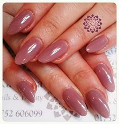 Gelish colour over acrylics #friendlyfunaffordable #nails #nailsplymouth #gelish #nude