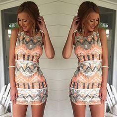 Slim Bodycon Evening Party Mini Vest Dress