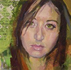 """""""Green is Good"""" - Original Fine Art for Sale - � Katie Wilson"""