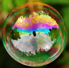coulours in the bubble
