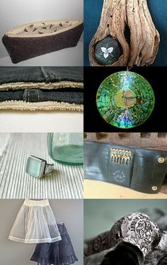 Saturday Finds from The Couch • etsy treasury #etsy #giftguide #recycleparty #ecofriendly #recycled #repurposed #upcycled