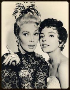 Dolores Gray & Joan Collins