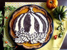 Pumpkin Pie auf Amarettini Boden & Verlosung