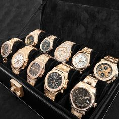 In some cases part of that image is the quantity of money you invested to use a watch with a name like Rolex on it; it is no secret how much watches like that can cost. Stylish Watches, Luxury Watches For Men, Patek Philippe, Audemars Piguet, Omega, Dream Watches, Expensive Watches, Rose Gold Jewelry, Luxury Jewelry