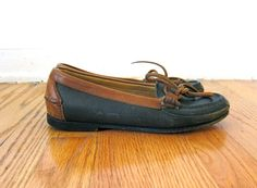 Navy Blue Cole Haan Loafers Size 5.5 by asecretshop on Etsy, $34.00