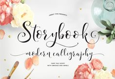 Storybook Calligraphy Script by Sweet Type on Creative Market