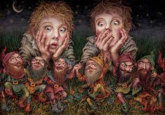 Orphan Mary and the 7 Drafts Alicja Kocurek #bookillustration #illustrator #art4childs #child #book #books #illustrations #posters #poster #theaterposter #illustrator #illustrations