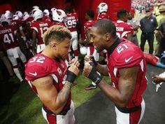 Cardinals free safety Tyrann Mathieu (32) and cornerback