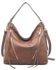21840a44d1 Urban Expressions Avery Handbag (Cognac) Urban Expressions… Taupe