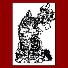 猫の切り絵です。イラストや版画ではありません。一点一点心を込めて切っております。ポストカードサイズ(100mm×148mm)で額はつきません。背景...|ハンドメイド、手作り、手仕事品の通販・販売・購入ならCreema。