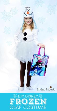 Cool DIY Olaf Costume for Teens  Diy Olaf Costume For Teen Girls