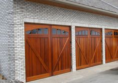 1000 Ideas About Wood Garage Doors On Pinterest Garage