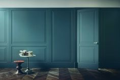 In these period we are dealing with a new interior design project in Milan and one of the requests of our client was to … Porte Design, Küchen Design, Door Design, Wall Design, Casa Milano, New Interior Design, Wall Molding, Internal Doors, Wainscoting