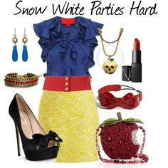 Snow White Parties Hard   elfsacks