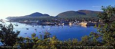 Bar Harbor Maine is a lovely town to explore, as well as nearby Acadia National Park