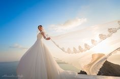 Book a Santorini photo shoot by Santorini photographer Alexander Hadji about the island & will make sure you will get the most out of your Santorini photo shoot! Book now! Santorini Photographer, Santorini Wedding, More Photos, Light In The Dark, Wedding Photos, Wedding Photography, Photoshoot, Bright Colours, Wedding Dresses
