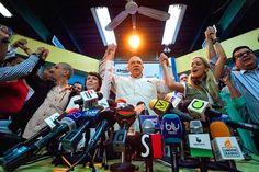 LE DAN UN PARAO! Voluntad Popular y miembros de la MUD rechazaron amenazas de Maduro