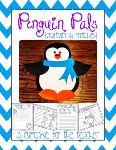 penguin pals craftivity & printables |