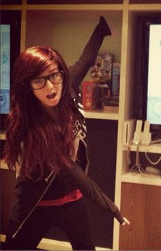 Christina Grimmie <3 She has just an amazing voice, a bright personality, and just a great look. Love you Christina!!!! <3