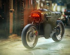 Electric Cafe Racer Concept by Michael Cohen