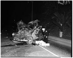 Car accident death, 1952