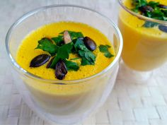 Vitamix: Kürbis-Orangen-Ingwer-Suppe
