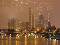 Lightning Storm, Frankfurt Germany