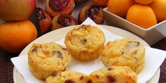 Muffins sa mandarinama i brusnicama — Coolinarika