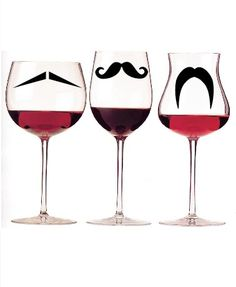 These are fun... Party mustache glass identifiers