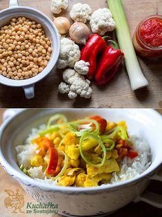 Cizrna se zeleninou
