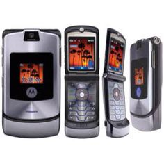 Motorola RAZR v3i c. 2006. I didn't like this phone at all. Ditched it as soon as I could.