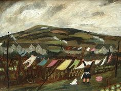 Wash Day on the Downs, Gary Bunt