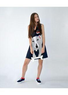 "HEEL Shop | Art Fashion, Athens Lab Dress ""Dog"""