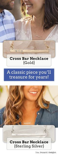 A cross bar provides stability, and that's what you provide for me. I'm better with you! This gorgeous necklace is hand-crafted in 10K gold and hand-set with up to 7 stones just for you {cubic zirconia or genuine diamonds- diamonds are conflict free}. It's strung from gold-filled chain.