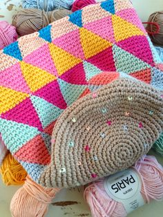 Crochet tapestry bag. Inspiration only