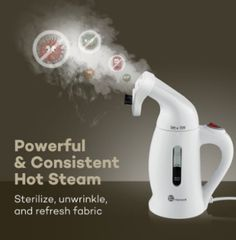 TaoTronics Garment Steamer, Handheld Portable Fabric Steamers For Clothes - Powerful Travel Garment Clothes Steamer, Capacity Perfect for Home and Travel - ETL Certification Best Garment Steamer, Ironing Machine, Fabric Steamer, Iron Steamer, Clean Sofa, Hot Steam, Clothes Steamer, Cleaning Dust, Heart Wall