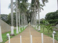 Acceso al parque Tomas Garrido en Villahermosa, Tabasco...
