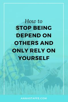 How to stop being dependent on others and start to be happy by yourself Self Development Books, Development Quotes, Personal Development, Make Me Happy, Are You Happy, Independent Women, Being Independent, Finding Happiness, Self Care Routine
