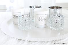 Candles - Home White Home